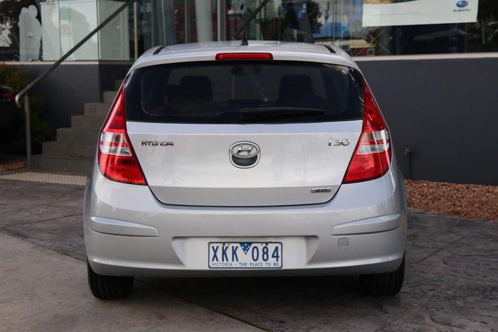 2009 Hyundai i30 SLX FD MY09 Silver