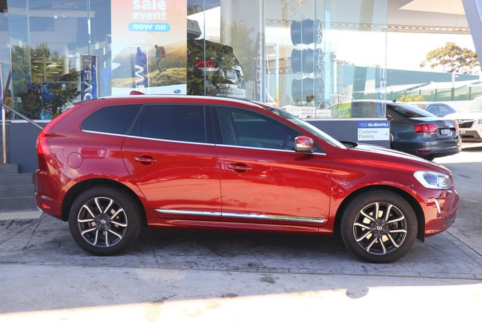 2017 Volvo XC60 T5 Luxury MY17 Four Wheel Drive Red