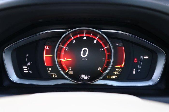 2017 Volvo XC60 T5 Luxury MY17 Four Wheel Drive Red