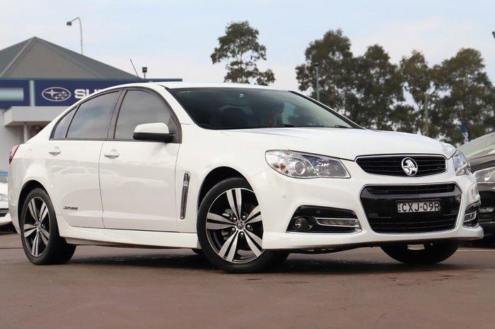2014 Holden Commodore SV6 Storm VF MY14 White