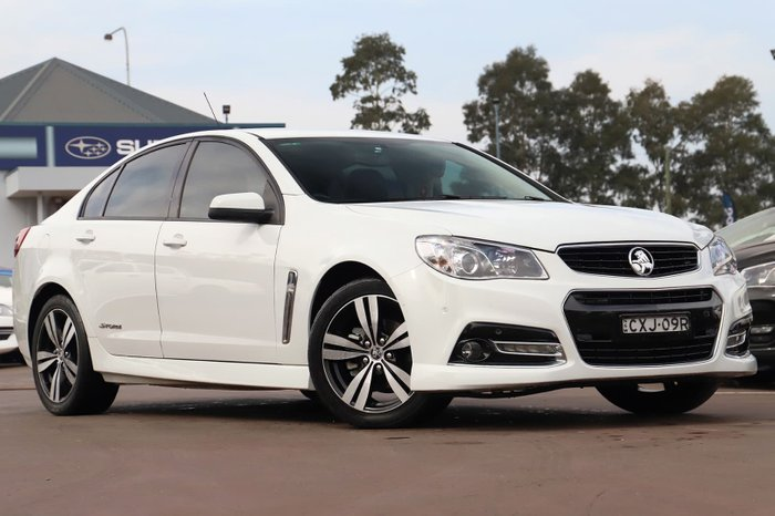 2014 Holden Commodore SV6 Storm VF MY14 White