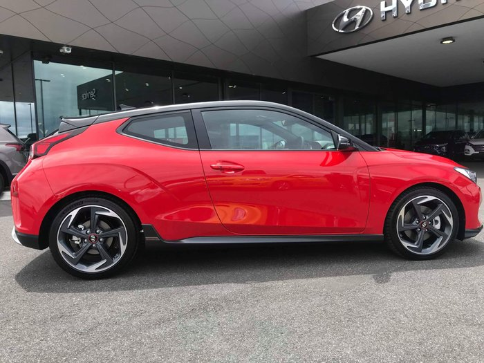 2019 Hyundai Veloster Turbo Premium JS MY20 Red