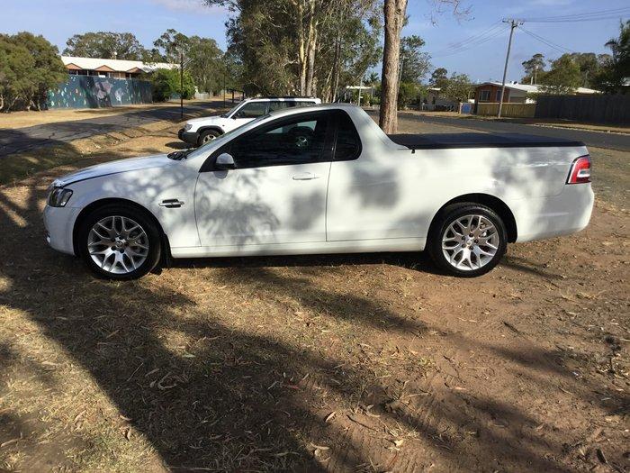 2010 Holden Ute Omega VE Series II White