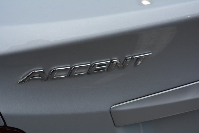 2015 Hyundai Accent Active RB3 MY16 Silver