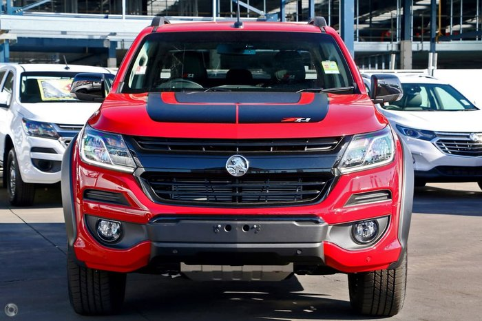 2019 Holden Colorado Z71 RG MY20 4X4 Dual Range Red
