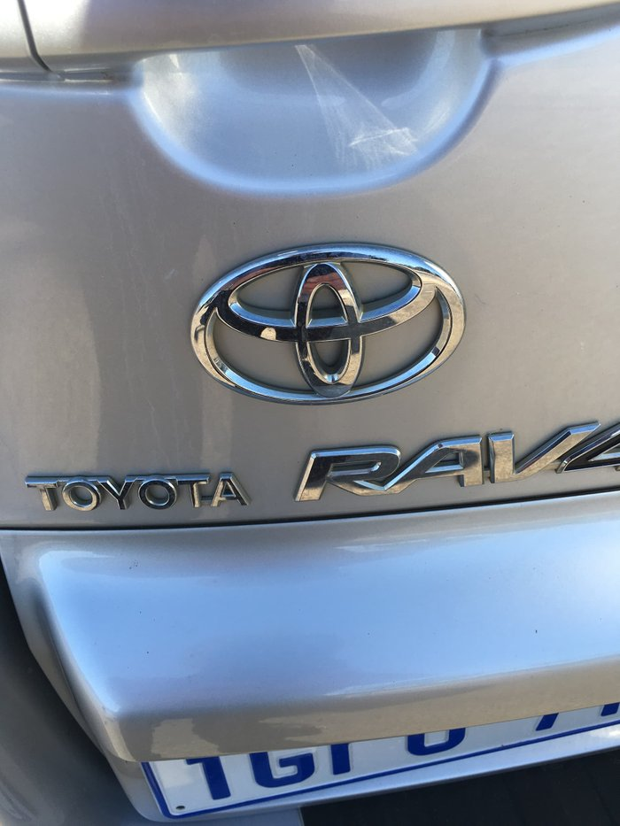 2009 Toyota RAV4 Edge ACA33R MY09 4X4 On Demand Silver