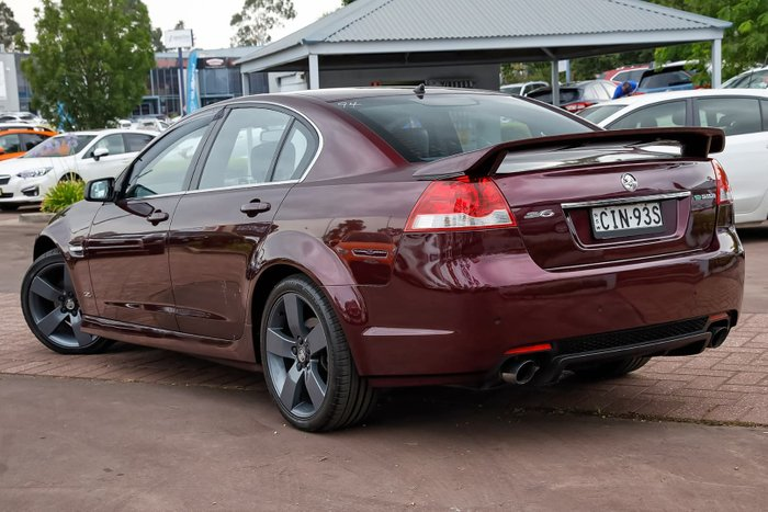 2012 Holden Commodore SV6 Z Series VE Series II MY12.5 Purple