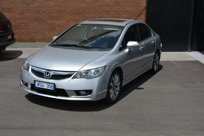 2008 Honda Civic Sport 8th Gen MY08 Silver