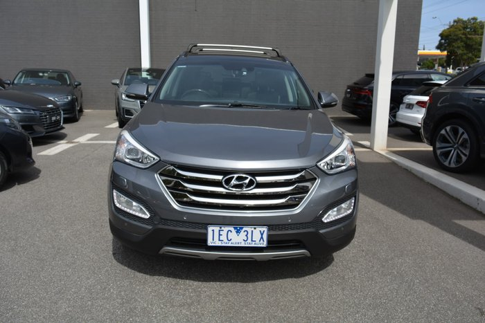 2014 Hyundai Santa Fe Highlander DM2 MY15 4X4 On Demand Silver