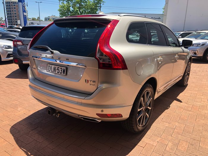 2017 Volvo XC60 D5 Luxury MY17 Four Wheel Drive Gold