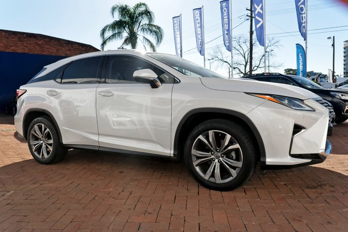 2017 Lexus RX RX350 Luxury GGL25R 4X4 On Demand White