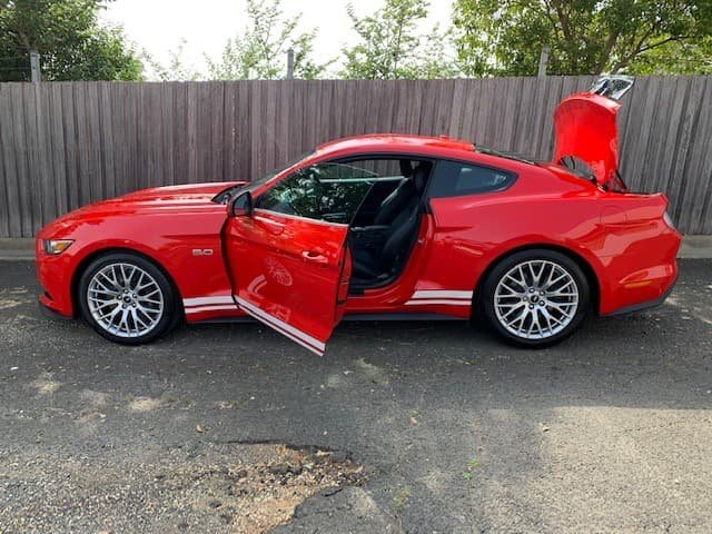2017 Ford Mustang GT FM MY17 Red