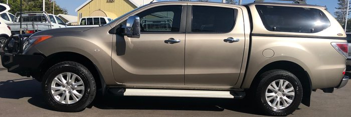 2013 Mazda BT-50 XTR UP 4X4 Dual Range Gold