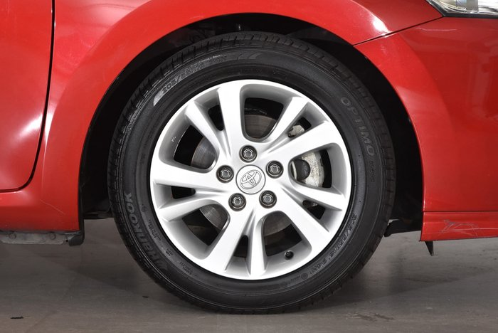 2012 Toyota Corolla Ascent Sport ZRE152R Red