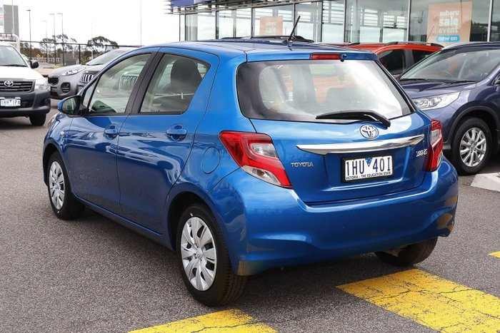 2014 Toyota Yaris Ascent NCP130R Blue