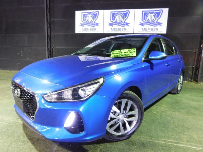 2018 Hyundai i30 Active PD MY18 Blue