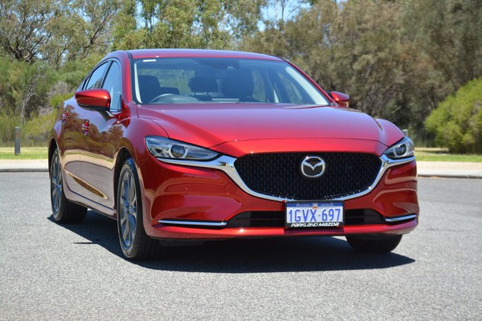 2019 Mazda 6 Touring GL Series Red
