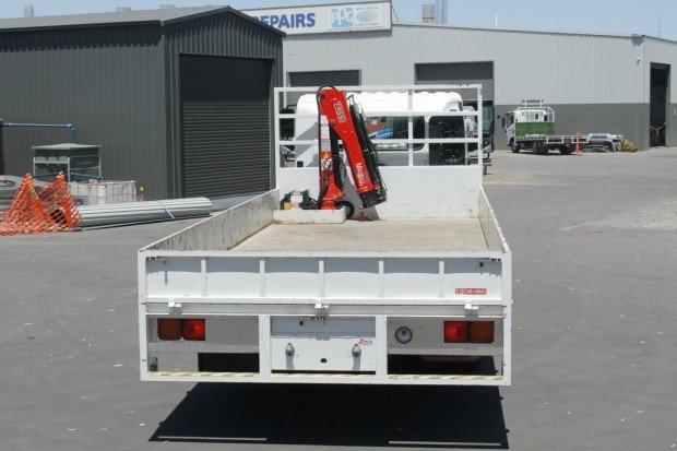2012 Hino FD 1124-500 Series VERY LOW KILOMETRES WHITE