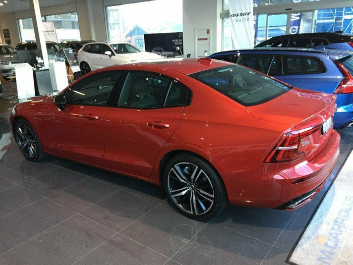 2019 Volvo S60 T5 R-Design MY20 4X4 On Demand Fusion Red