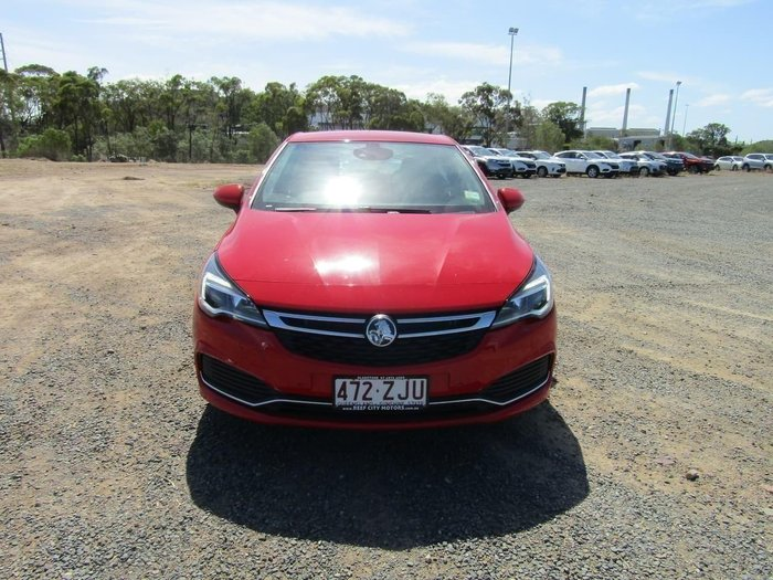 2016 Holden Astra RS BK MY17 Red