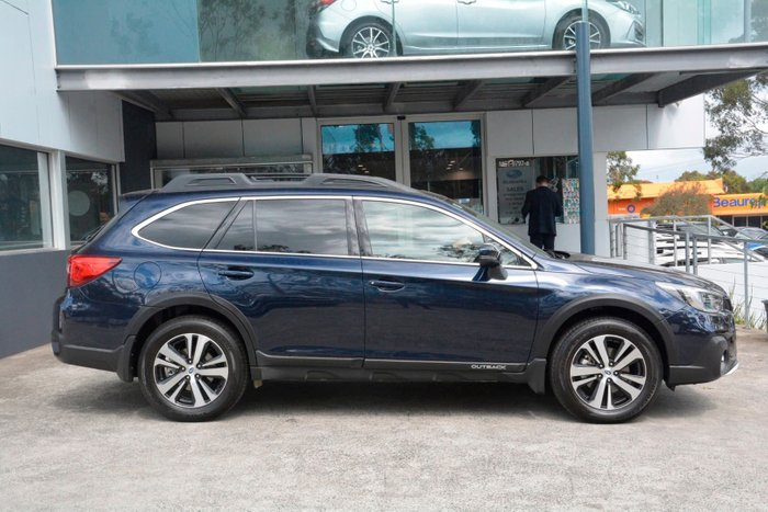2019 Subaru Outback 2.5i Premium 5GEN MY19 Four Wheel Drive Blue