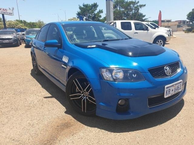 2011 HOLDEN COMMODORE SS VE II MY12 Perfect Blue