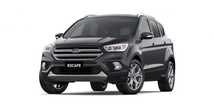 2019 Ford Escape Titanium ZG MY19.25 4X4 On Demand Magnetic