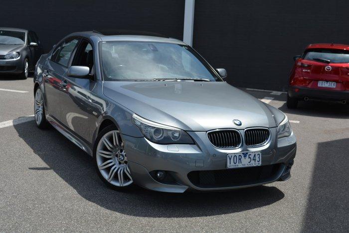 2008 BMW 5 Series 530i E60 MY08 Grey