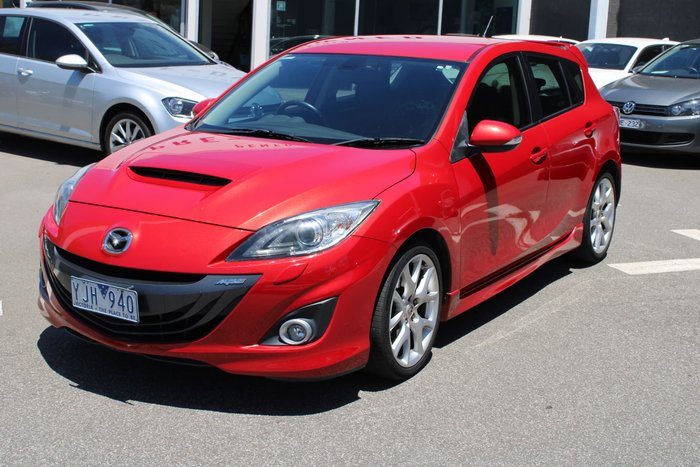 2011 Mazda 3 MPS Luxury BL Series 1 Red