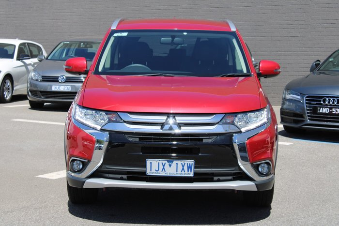 2017 Mitsubishi Outlander LS ZK MY17 Red