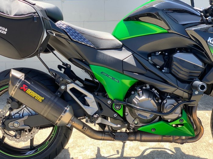 2012 Kawasaki Z800 ABS (ZR800) Green