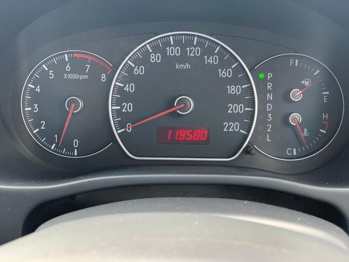 2008 Suzuki SX4 GYA Black