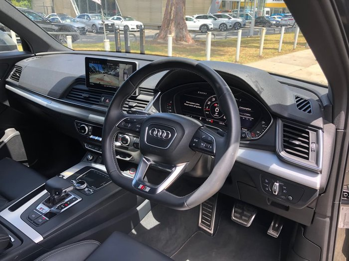 2018 Audi SQ5 FY MY18 Four Wheel Drive Grey