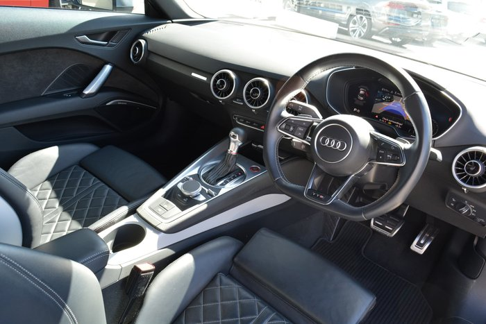 2017 Audi TTS FV MY17 Four Wheel Drive Grey