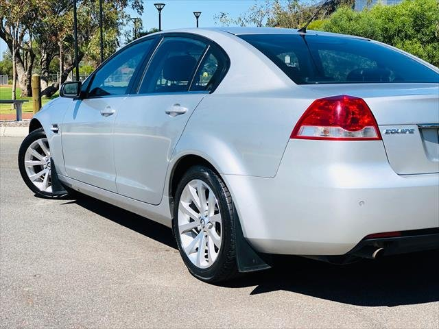 2012 Holden Commodore Equipe VE Series II MY12 SILVER
