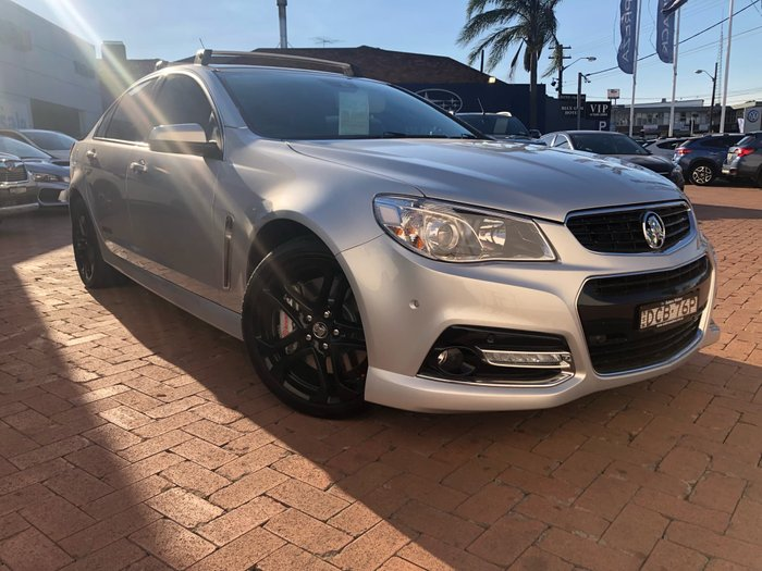2014 Holden Commodore SS V Redline VF MY14 Silver