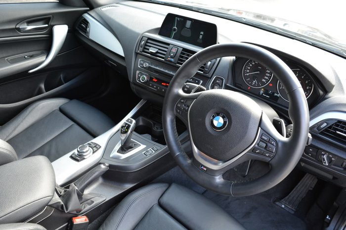 2013 BMW 1 Series 125i M Sport F20 MY14 Black