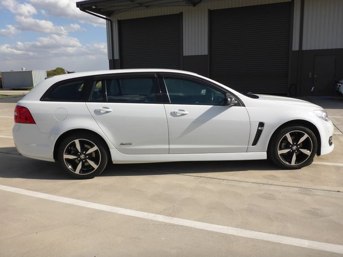 2016 Holden Commodore SV6 Black VF Series II MY16 White