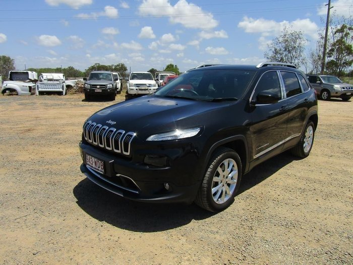 2014 Jeep Cherokee Longitude KL MY15 4X4 On Demand Black Pearl