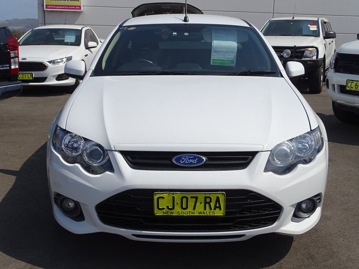 2012 Ford Falcon Ute XR6 Limited Edition FG MkII White