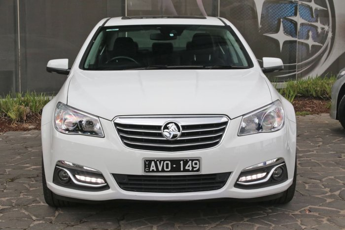2015 Holden Calais V VF Series II MY16 White