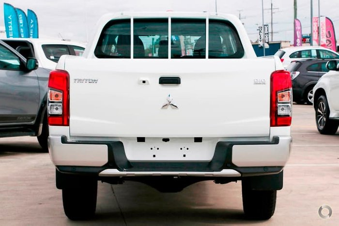 2019 Mitsubishi Triton GLX MR MY19 4X4 Dual Range White