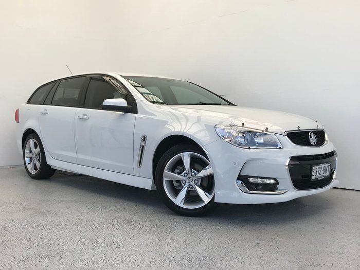 2016 Holden Commodore SV6 VF Series II MY16 White