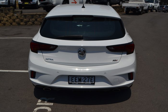 2016 Holden Astra RS-V BK MY17 White