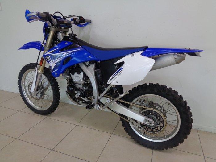 2009 YAMAHA WR250R Blue