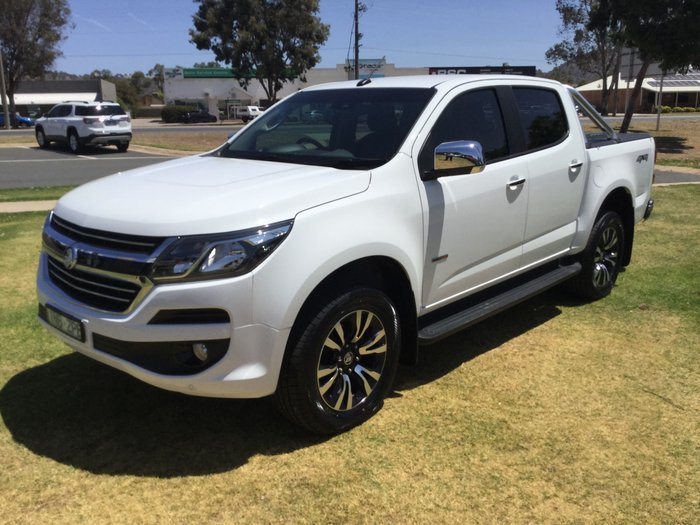 2018 Holden Colorado LTZ RG MY19 4X4 Dual Range White