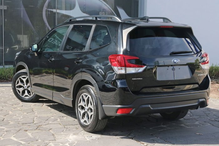 2018 Subaru Forester 2.5i S5 MY19 Four Wheel Drive Black
