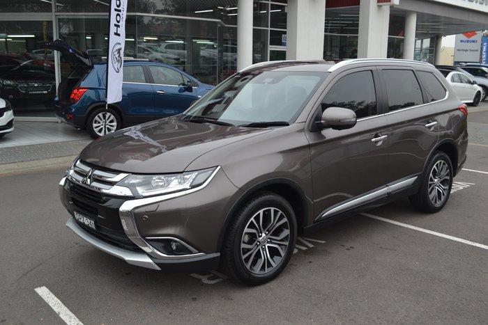 2017 Mitsubishi Outlander Exceed ZL MY18.5 4X4 On Demand Bronze