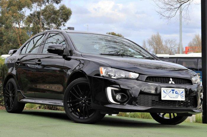 2017 Mitsubishi Lancer Black Edition CF MY17 Black