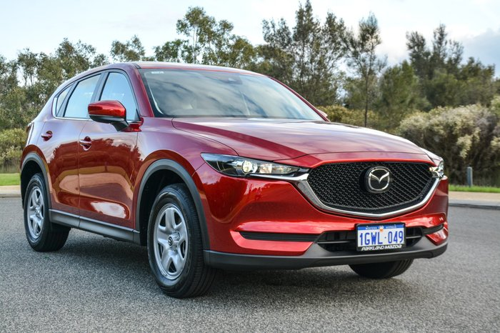 2019 Mazda CX-5 Maxx KF Series Red